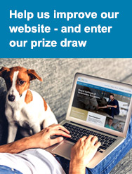 Help us improve our website - and enter our prize draw